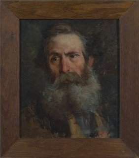 500: Civil War General, Oil on Canvas
