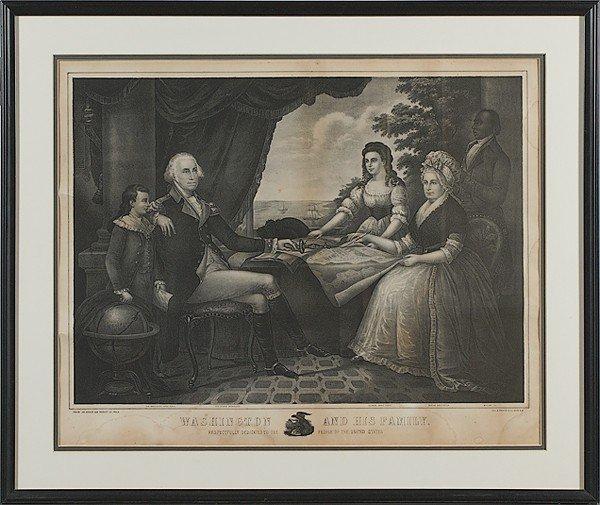 502: George Washington Steel Engraving