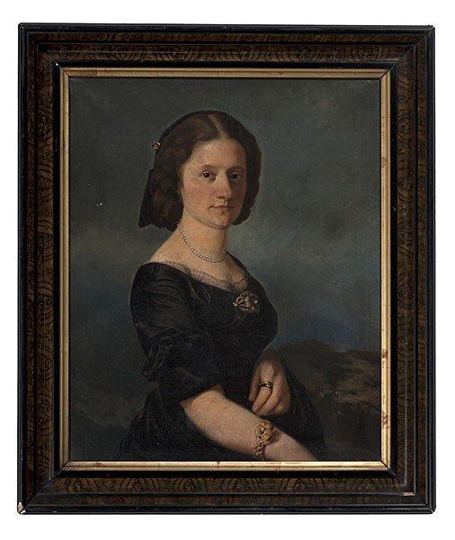 506: Portrait of Mrs. Bensinger, Oil on Canvas