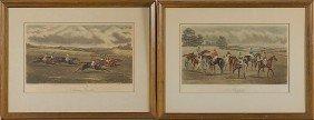 508: G.C. Hunt & Son Horse Racing Engravings
