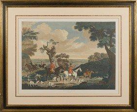 509: English Foxhunt Engraving