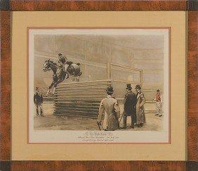 510: Lithograph after W.S. Vanderbilt Allen The High Ju