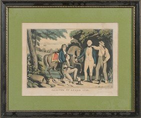 Capture Of Major Andre Print By Currier�