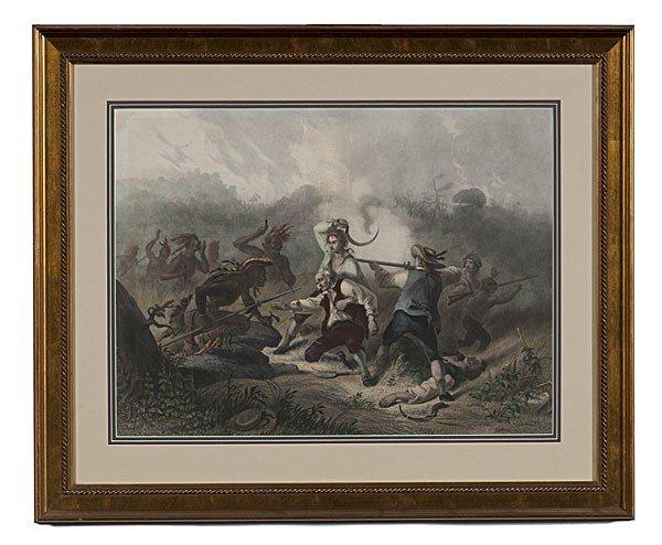 517: Wyoming, 19th Century Historical Engraving