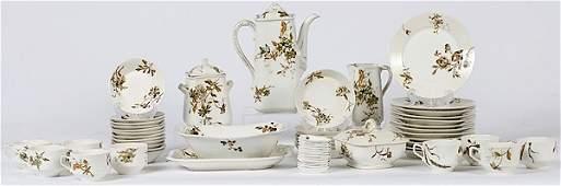 631: Haviland Limoges Partial Tea Service