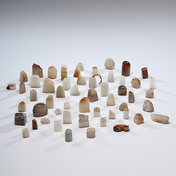 1: Large Collection of Chinese Jade Seals