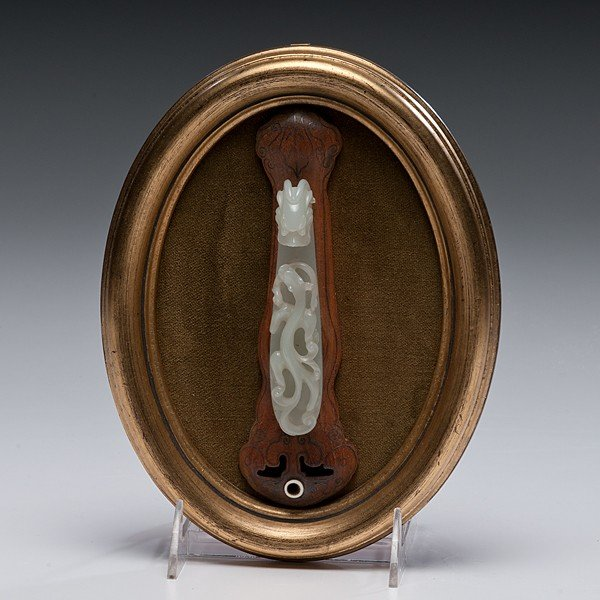 21: Jade Chinese Garment Hook