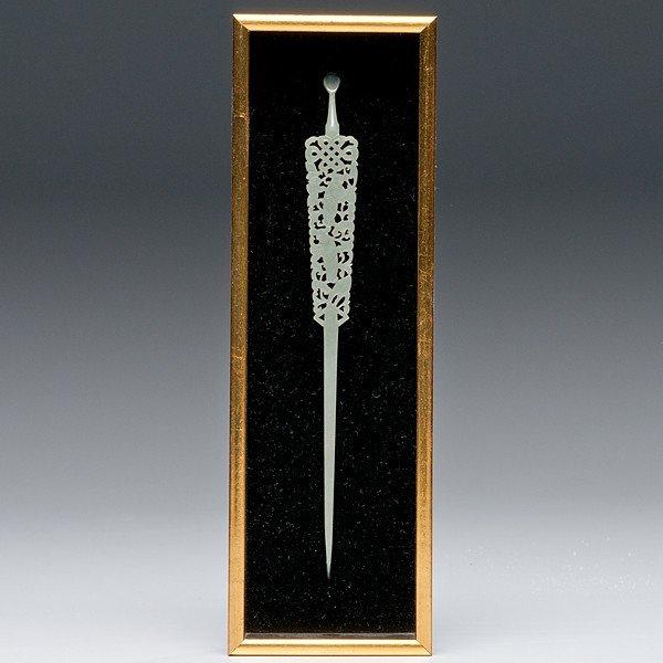24: Chinese Jade Hairpin