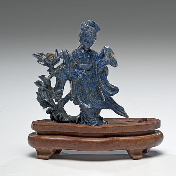 170: Chinese Carved Lapis Figure
