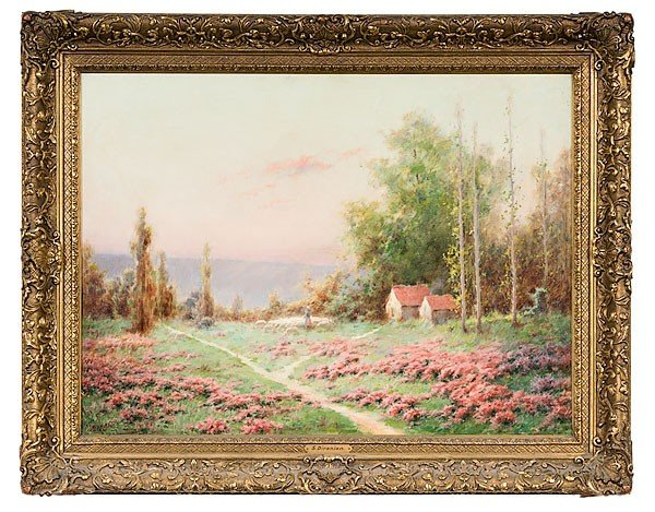 1: Sarkis Diranian (Turkish, 1854-1918), Landscape