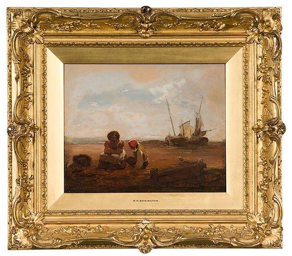 11: R.P. Bonington (British, act. 1801-1828), Seascape