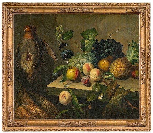 14: James Charles Ward (British, 1830-1875), Still Life