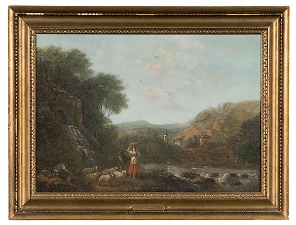 22: Attributed to  Zuccarelli (Italian, 1702-1788)