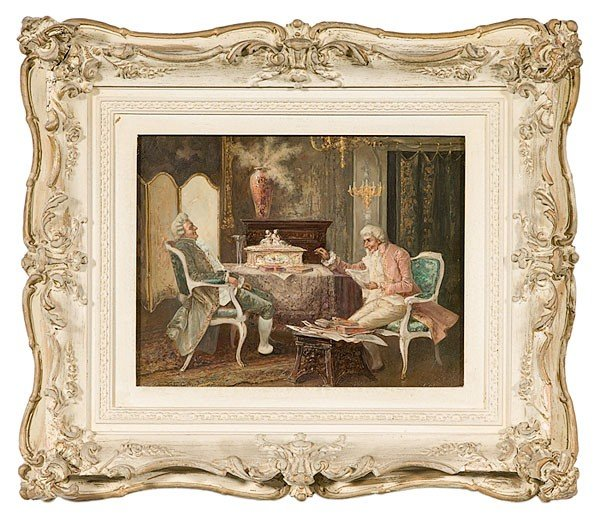 26: Interior Painting (Continental, 19th Century)