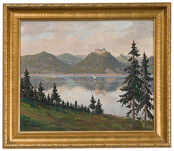 29: Willi Geiger (German, 1878-1971) Bavarian Landscape