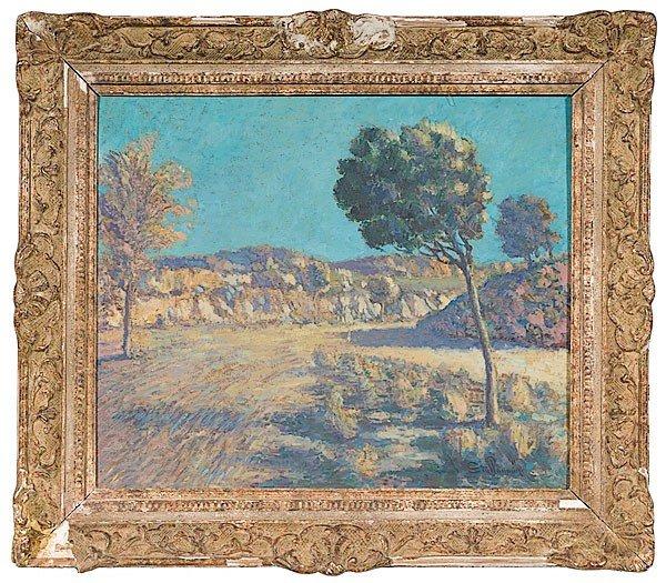 34: Armand Guillamin (French, 1841-1927), Paysage