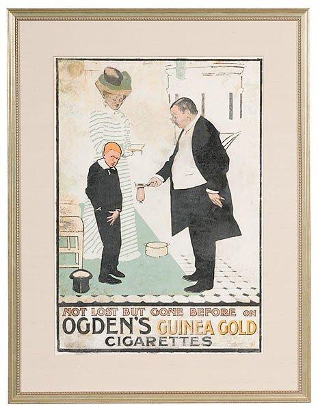 37: Ogden's Guinea Gold Cigarette Poster