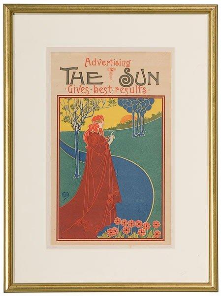 38: Louis John Rhead (British, 1857-1926), The Sun