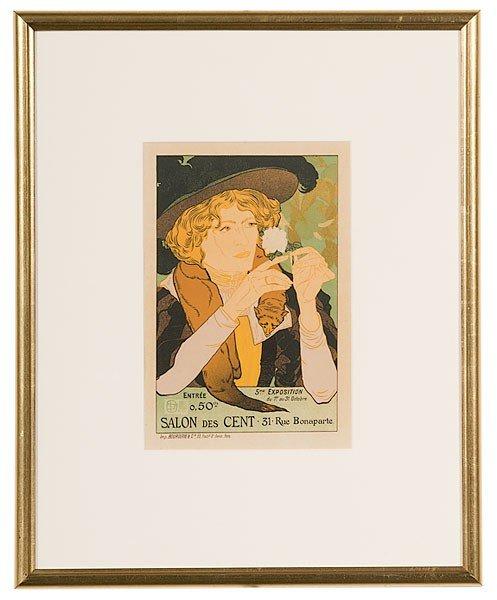 39: Georges de Feure (French, 1868-1943) Salon des Cent