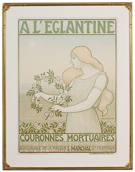 42: Paul Berthon (French, 1872-1909), A l'Eglantine