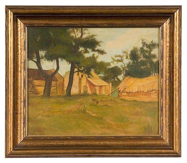 49: E.T. Ware (Ohio, 20th century) Cincinnati Landscape