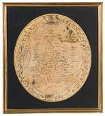 153: Regency Needlework Map
