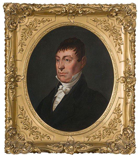 273: Asa Park (Kentucky, 1790-1827) Portrait of Lafayet