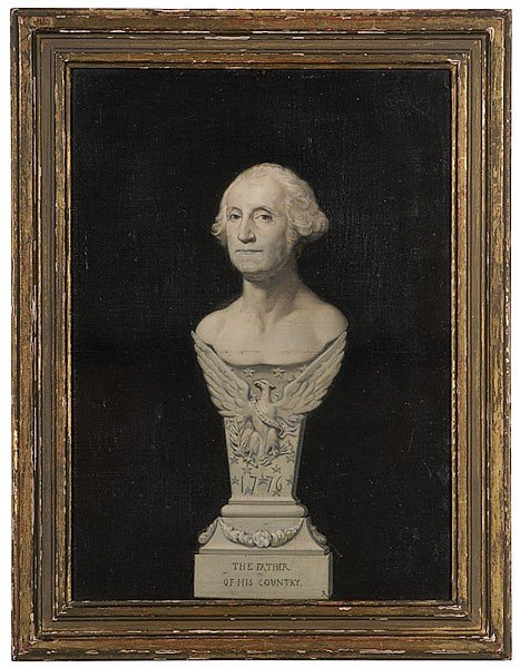 2: Joseph Richomme George Washington Grisaille Portrait