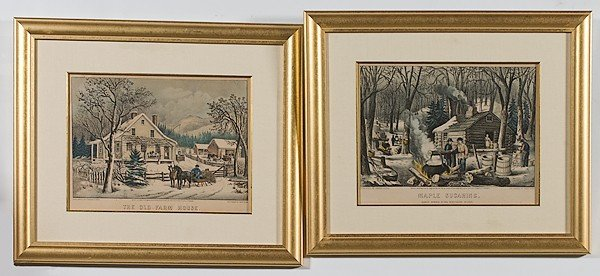 10: Currier and Ives American Prints