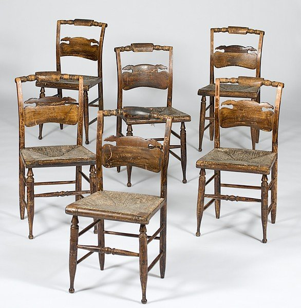24: Hitchcock Chairs