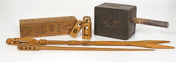 49: Folk Art Carved Wood Whimsies, Plus