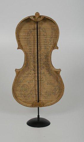 Ohio Outsider Artist Violin Case�