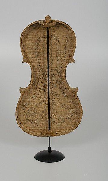59: Ohio Outsider Artist Violin Case