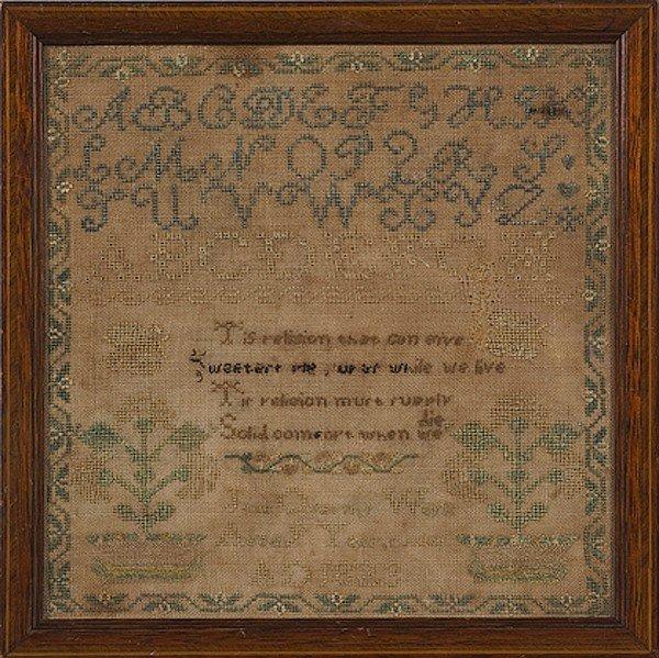 61: 1823 American Sampler