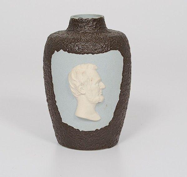 Radford Pottery Abraham Lincoln Vase