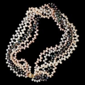 10: Multicolor Freshwater Pearls