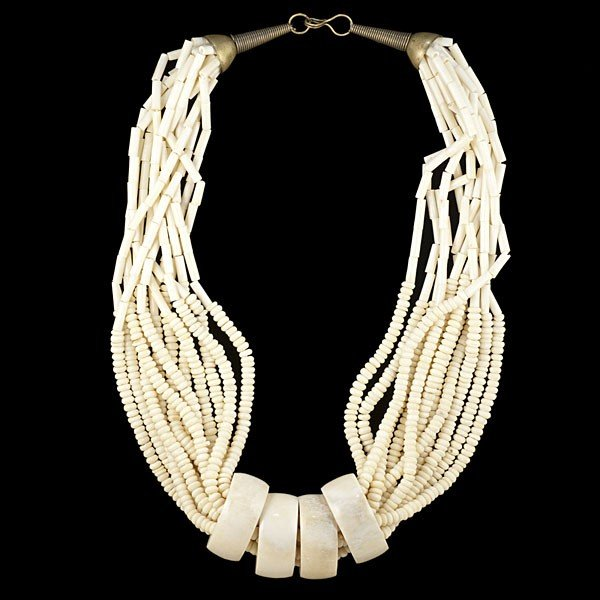 49: Tribal Ivory Necklace