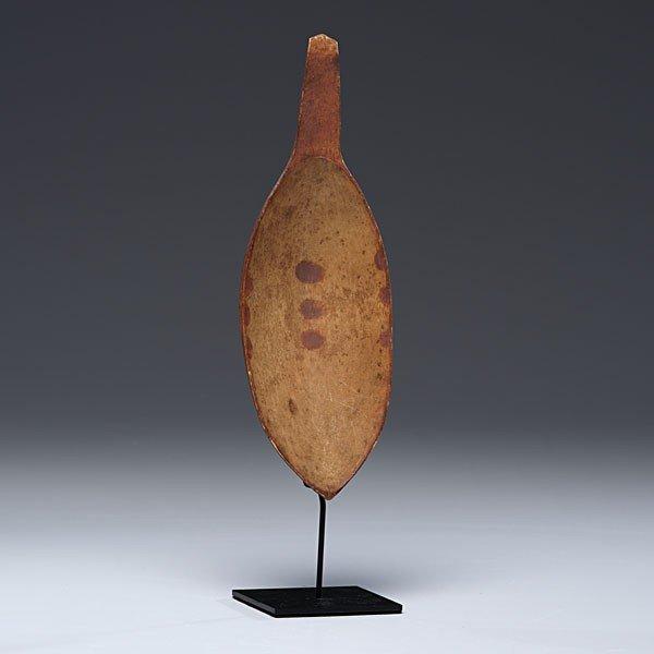 14: Eskimo Painted Wooden Ladle