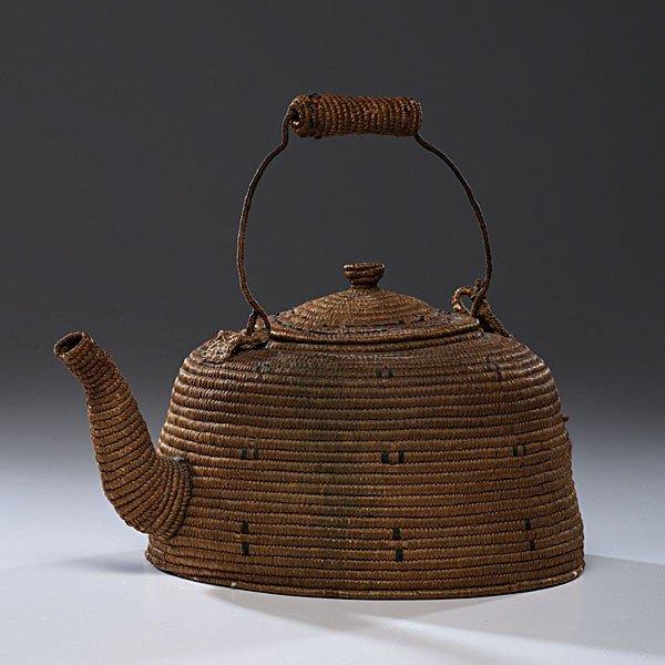 17: Eskimo Basketry Tea Kettle