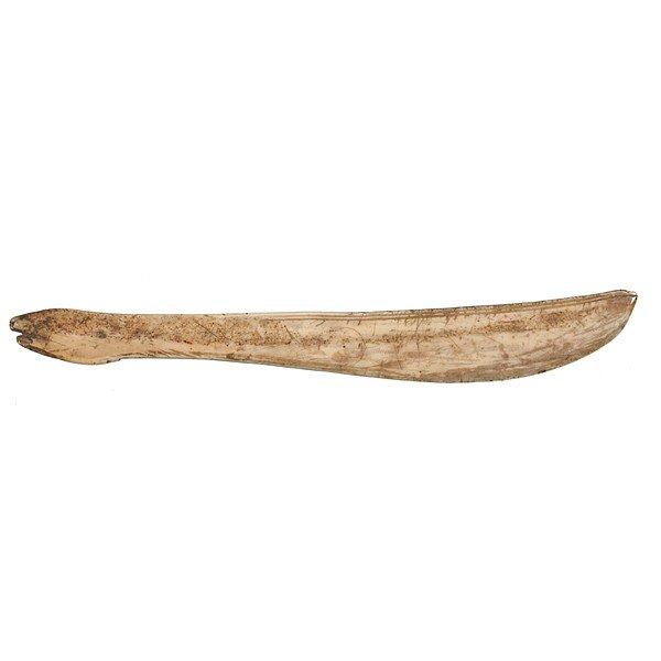 24: Eskimo Walrus Ivory Story Knife