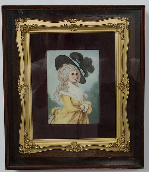 8: German Portrait Plaque