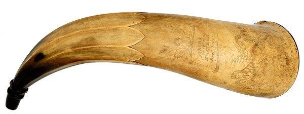 25: Early American Powder Horn