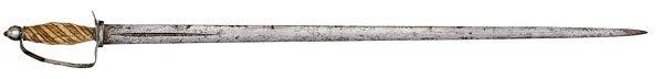 33: Fine American Revolutionary War Era Sword