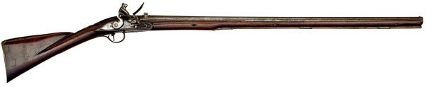 36: English Breechloading Flintlock Rifle