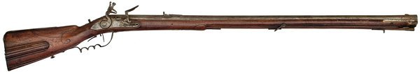 37: Early German Flintlock Target Rifle