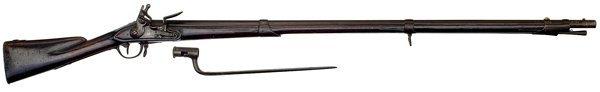 39: Charleville Musket Pattern 1771w/1774 Modification