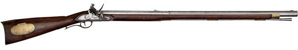 42: 1814 Contract Rifle S. Cogswell Troy NY Firearm