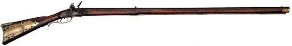 44: North Carolina Full-Stock Flintlock Rifle