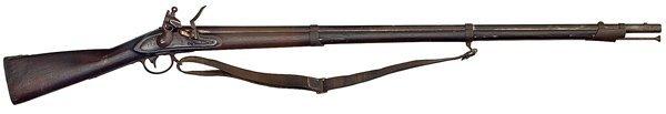 49: U.S. Model 1816 Flintlock Musket By M.T. Wickham