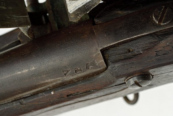 49: U.S. Model 1816 Flintlock Musket By M.T. Wickham - 4